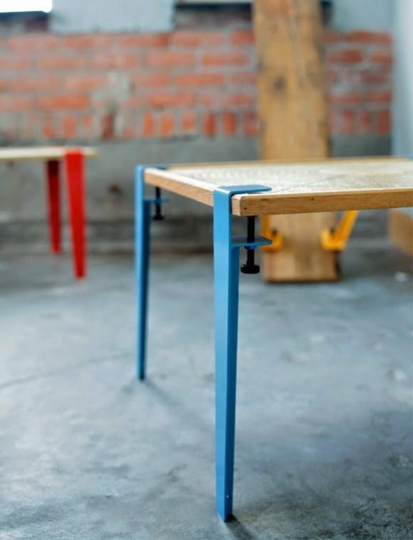 Pés para mesas e bancos - Somente Coisas Legais (1)