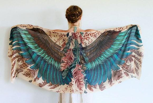 lenço pássaros 12