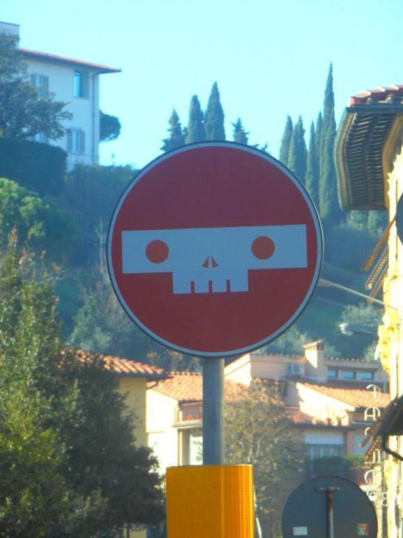 Street art - clet - 14