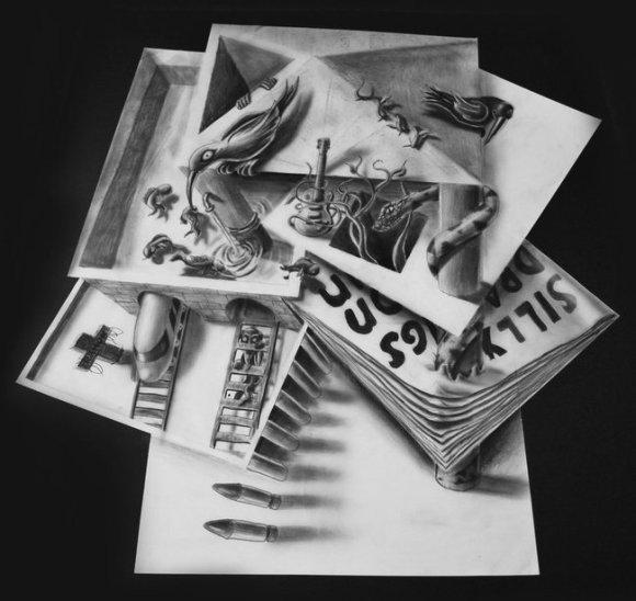 desenhos 3d - 10