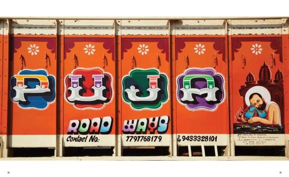Caminhões decorados da Índia - 12