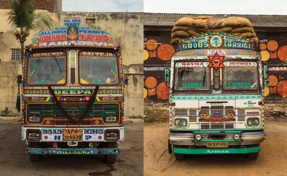 Caminhões decorados da Índia - 22