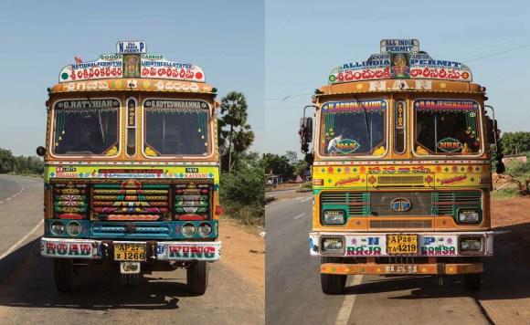 Caminhões decorados da Índia - 23