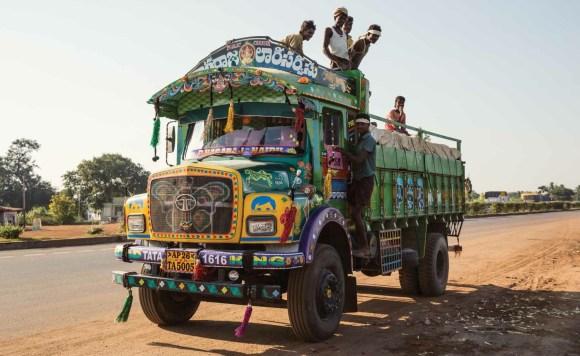 Caminhões decorados da Índia - 25