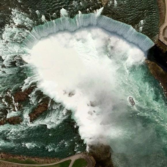Cataratas do Niágara - EUA - Canadá - Fotos aéreas