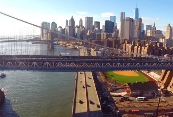 Drone em Nova York