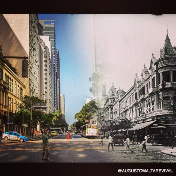 Rio de Janeiro antes e depois 8