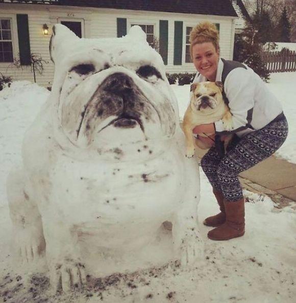 Animais de neve 3