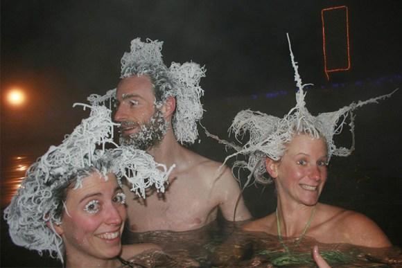Cabelos congelados no frio 2