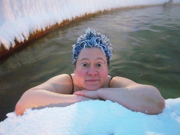 Cabelos congelados no frio 6