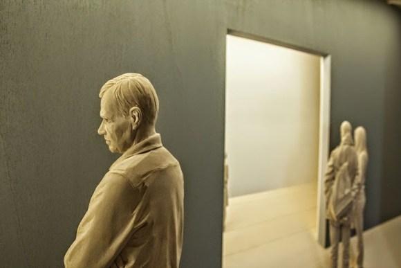 Esculturas hiper-realistas em madeira - PeterDemetz 2