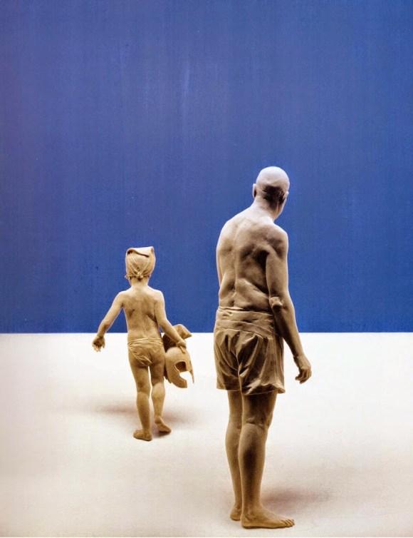 Esculturas hiper-realistas em madeira - PeterDemetz 3