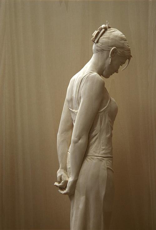 Esculturas hiper-realistas em madeira - PeterDemetz 8