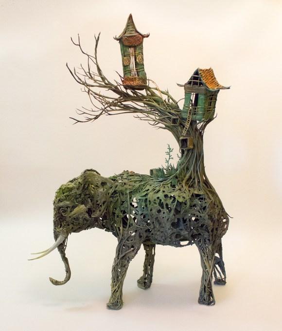 Esculturas surrealistas 8