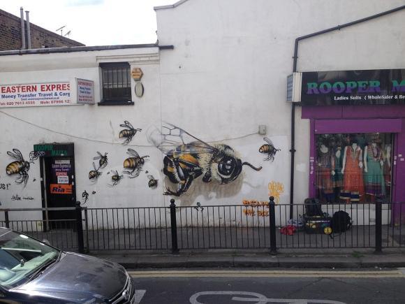 Grafite abelhas 5