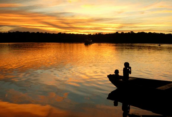 01 Pôr do Sol em Manaus - Amazonas