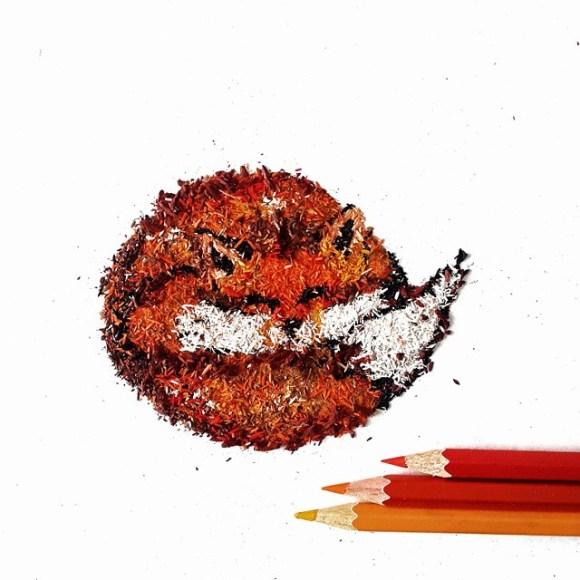 Animais - lápis 15