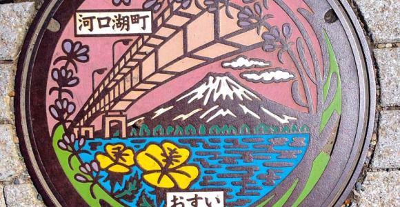 Tampas de bueiro japonesas provam que a arte pode estar em qualquer lugar