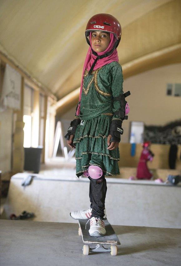 Garotas Skatistas Afeganistão 13