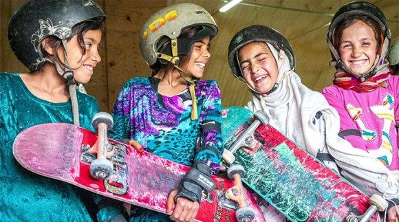 Garotas Skatistas Afeganistão 3