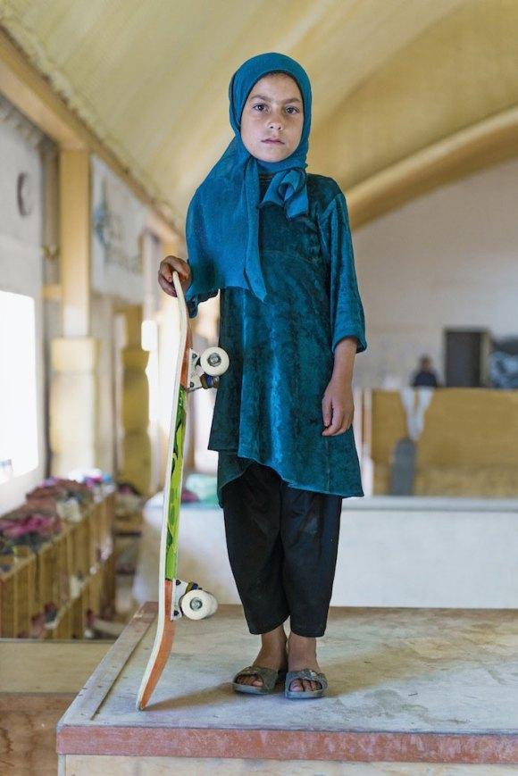 Garotas Skatistas Afeganistão 4