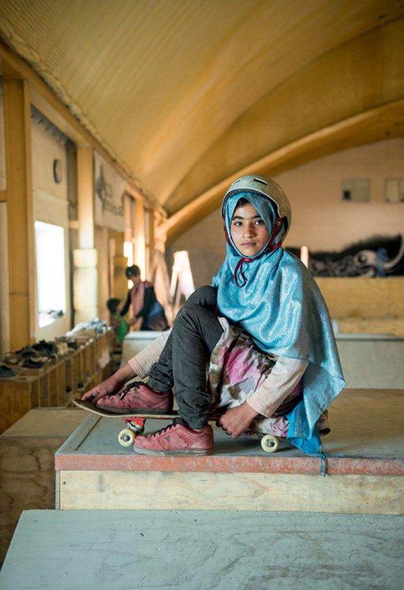Garotas Skatistas Afeganistão 6