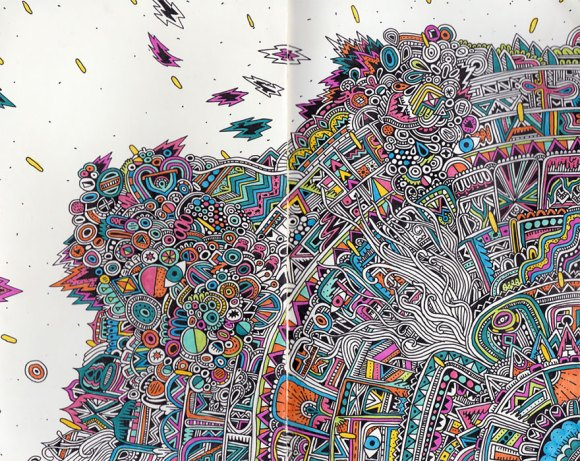Desenhos detalhados e coloridos 1