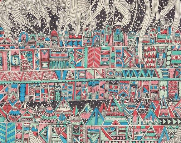 Desenhos detalhados e coloridos 11