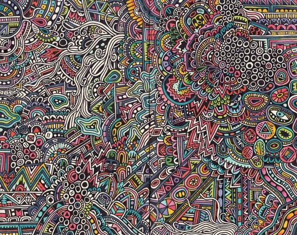 Desenhos detalhados e coloridos 2