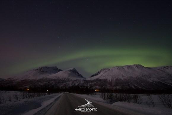 Aurora Boreal - Breivikeidet, Noruega
