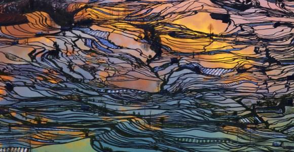 Fotógrafo explora a beleza dos terraços de plantação de arroz chineses