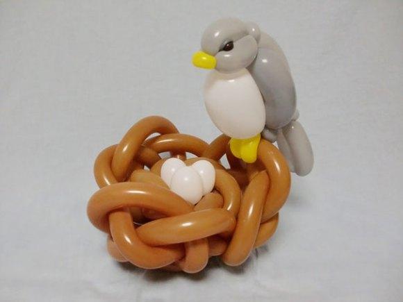 Escultura de balões 13
