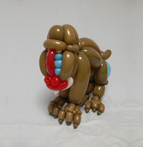 Escultura de balões 8
