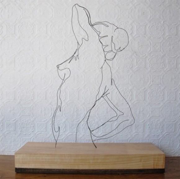 Esculturas de arame 1
