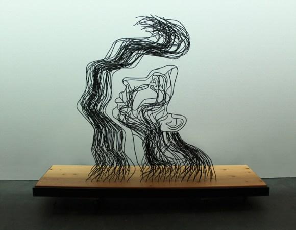 Esculturas de arame 10