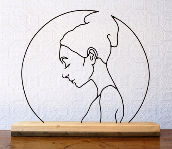 Esculturas de arame 13