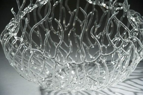 Esculturas de vidro - formas marinhas 6