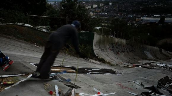 Estação de ski abandonada e destruída 1