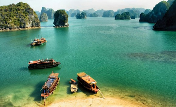 Vietnã - arquipélago de Halong Bay 2
