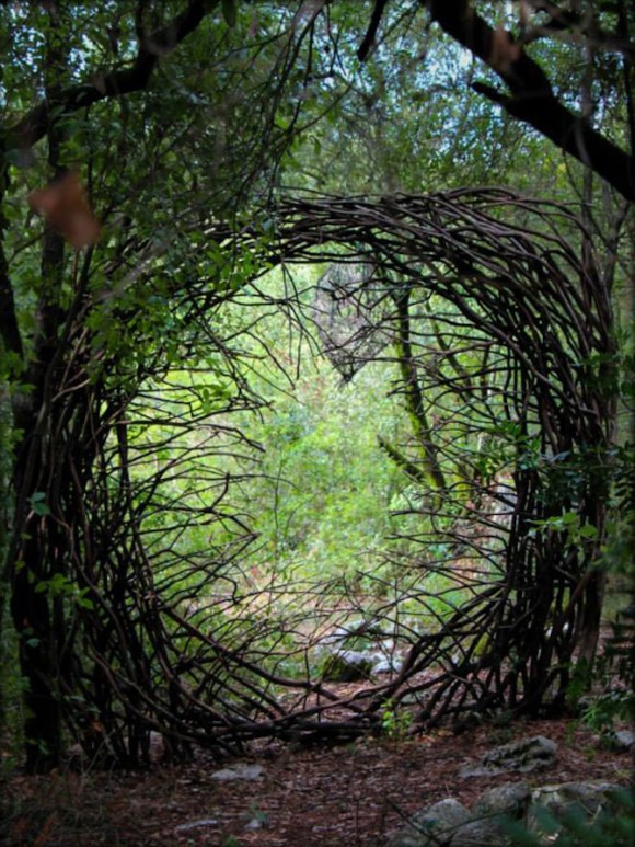 Arte com a natureza 13