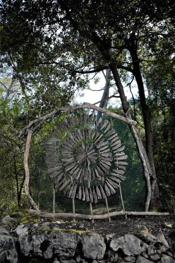 Arte com a natureza 4