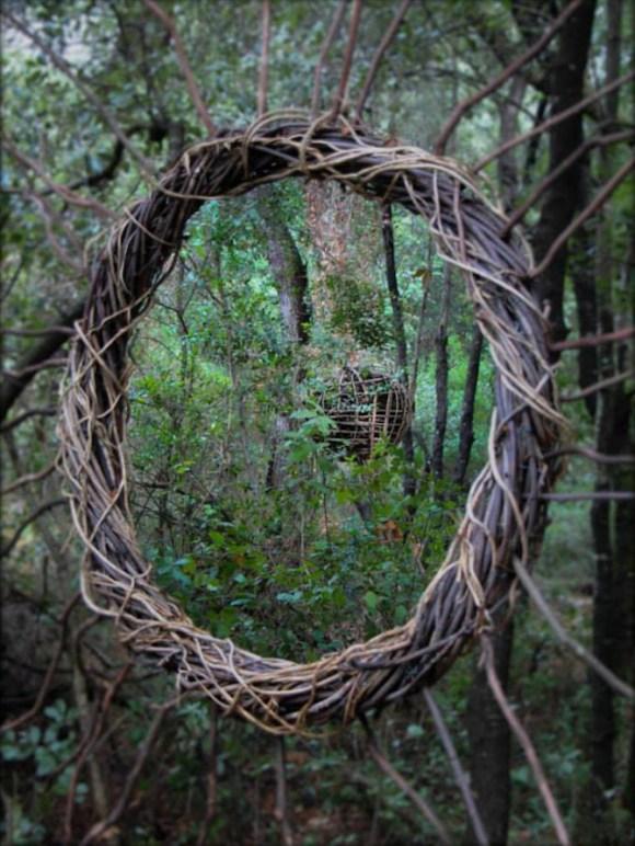 Arte com a natureza 7