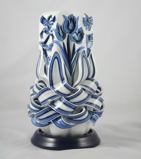 Escultura em velas decorativas 1