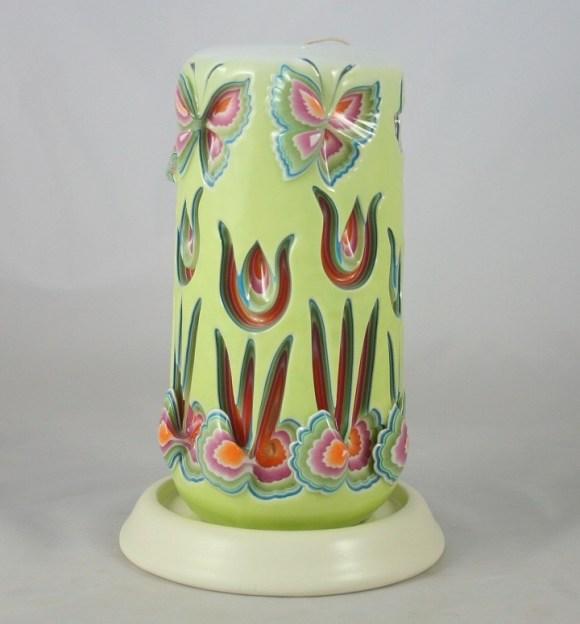 Escultura em velas decorativas 8