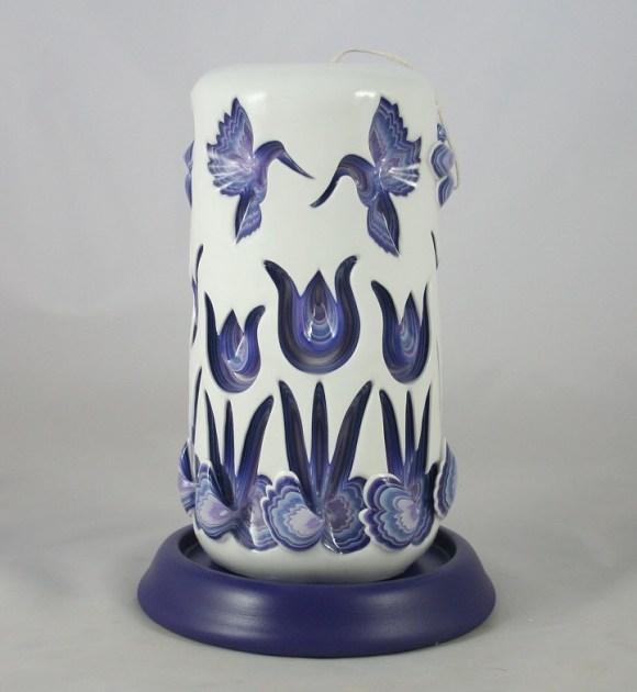 Escultura em velas decorativas 9