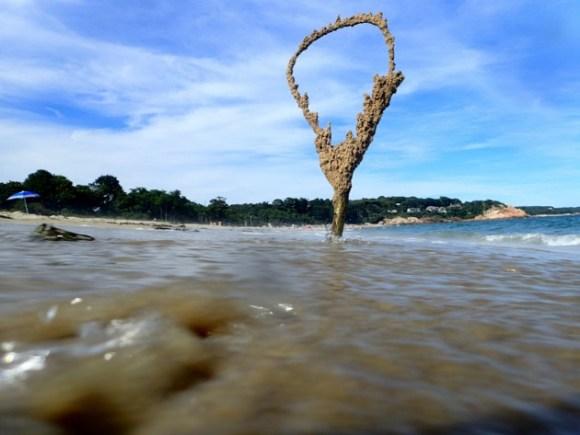 Esculturas de areia diferentes 7