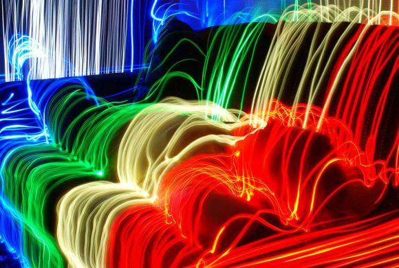 Pintura com luzes - longa exposição 12