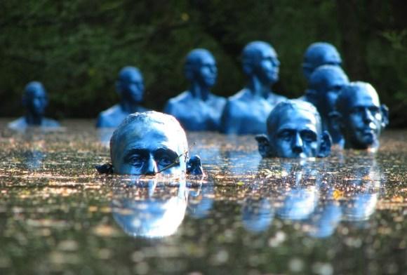 Esculturas submersas 1