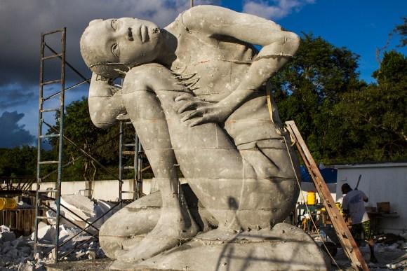 Maior escultura submersa do mundo 5