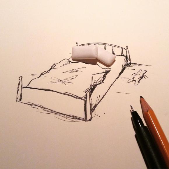 Objetos cotidianos ilustrações 19